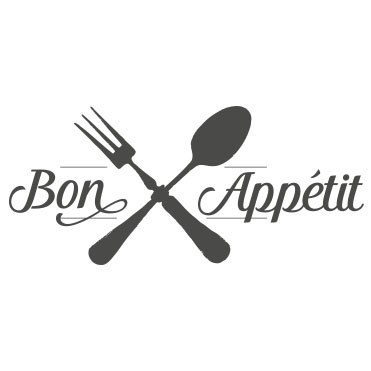 sticker decoratif cuisine bon appetit couverts croises listing1