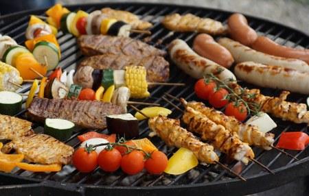 Chéoux - Barbecue du village