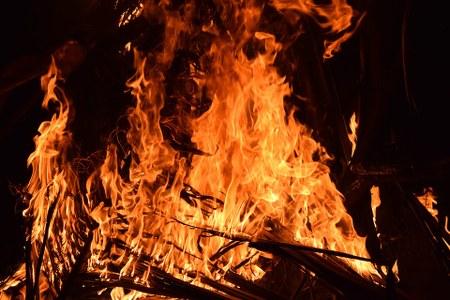 Grand feu de Rendeux-Haut au profit du Télévie