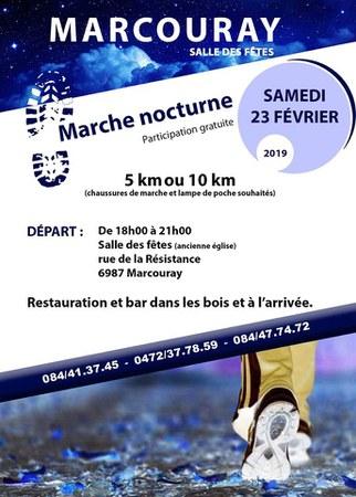 Marcouray - Marche forestière et nocturne