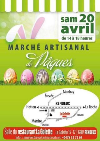 Rendeux - Marché artisanal de Pâques
