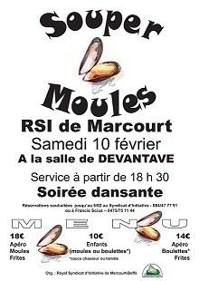Souper moules RSI Marcourt