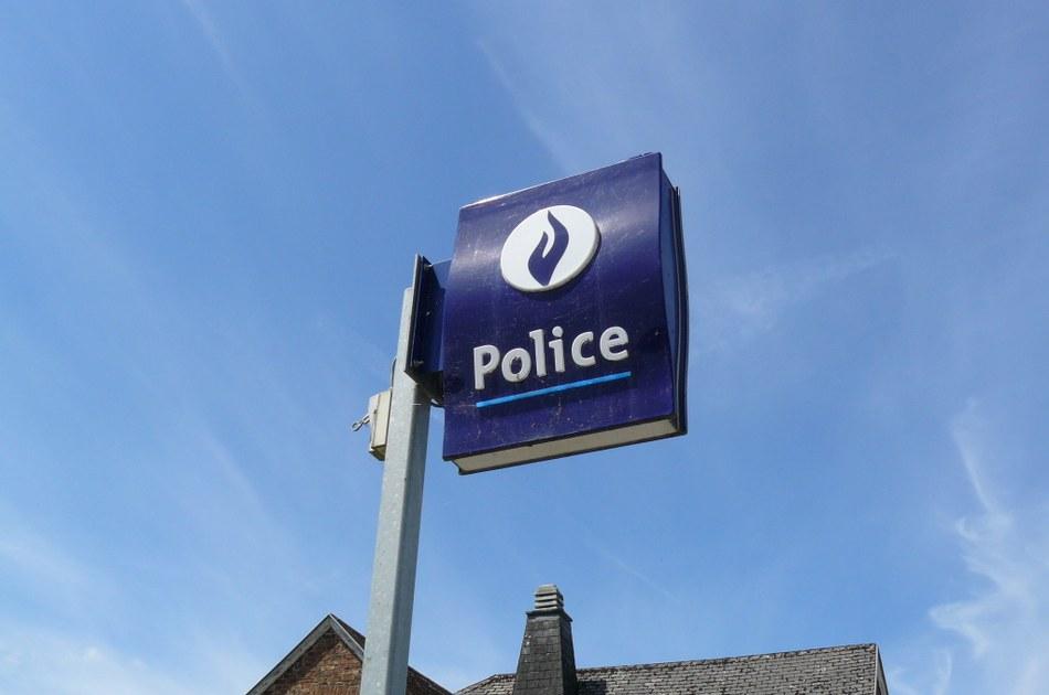 Police plaque